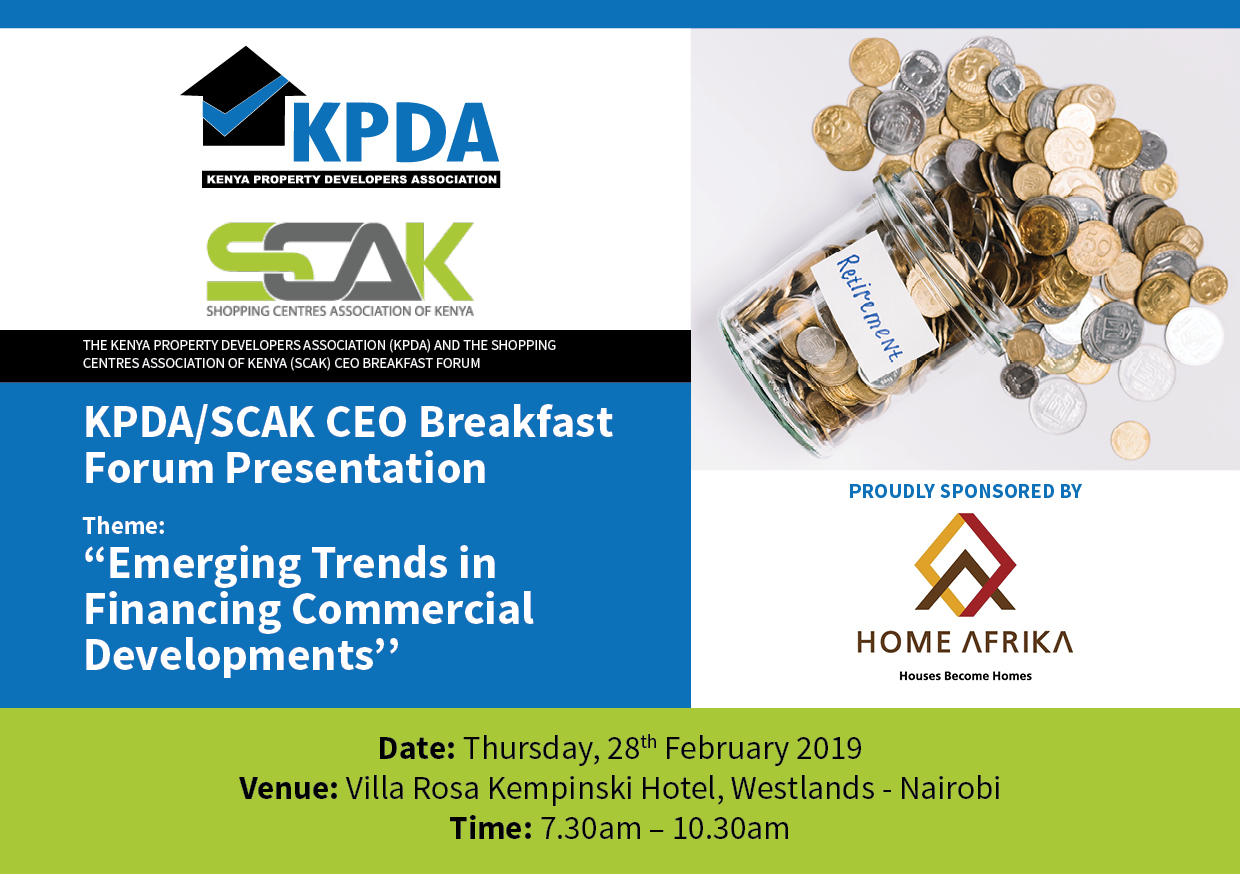 PRESENTATIONS - KPDA - SCAK CEO Breakfast Forum, 28th February 2019
